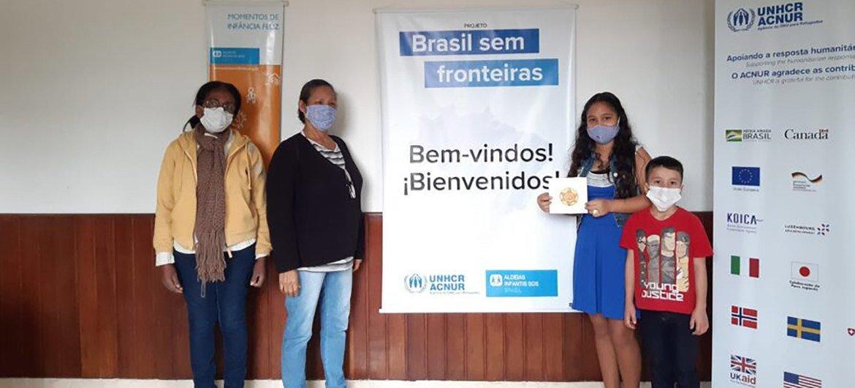 Atualmente, a jovem venezuelana de 12 anos mora em Juiz de Fora, no estado de Minas Gerais, com sua mãe, avó e irmão mais novo