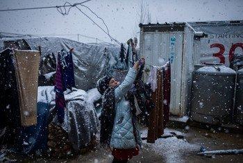 UNHCR inaonya kuwa ufadhili mdogo wa fedha kwa COVID-19 unahatarisha maisha ya wakimbizi wakiwemo hawa (pichani) walioko Lebanon.