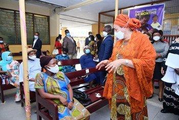 United Nations Deputy Secretary General, Amina J. Mohammed during her visit to Ghana.