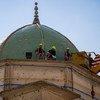 Мечеть ан-Нури была разрушена в результате взрыва в ходе битвы за Мосул в 2017 году.