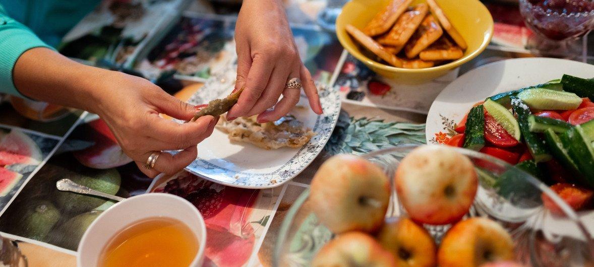 Сбалансированное питание способствует укреплению иммунитета