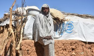 今年19岁的苏莱曼是一名难民,在3岁时,她与全家人一同逃离苏丹达尔富尔地区的冲突,来到了乍得。