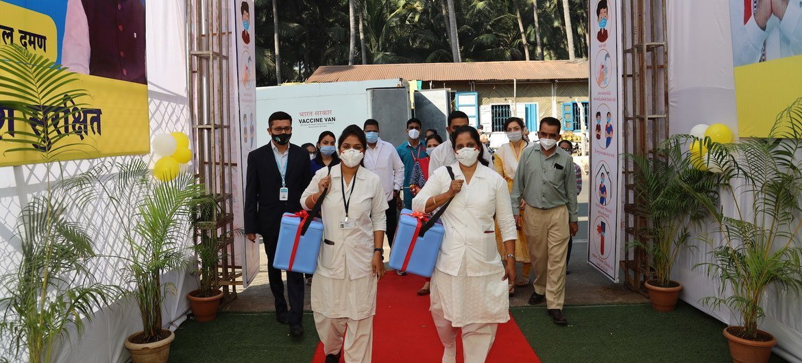 In January 2021, India launched its COVID-19 vaccination programme.
