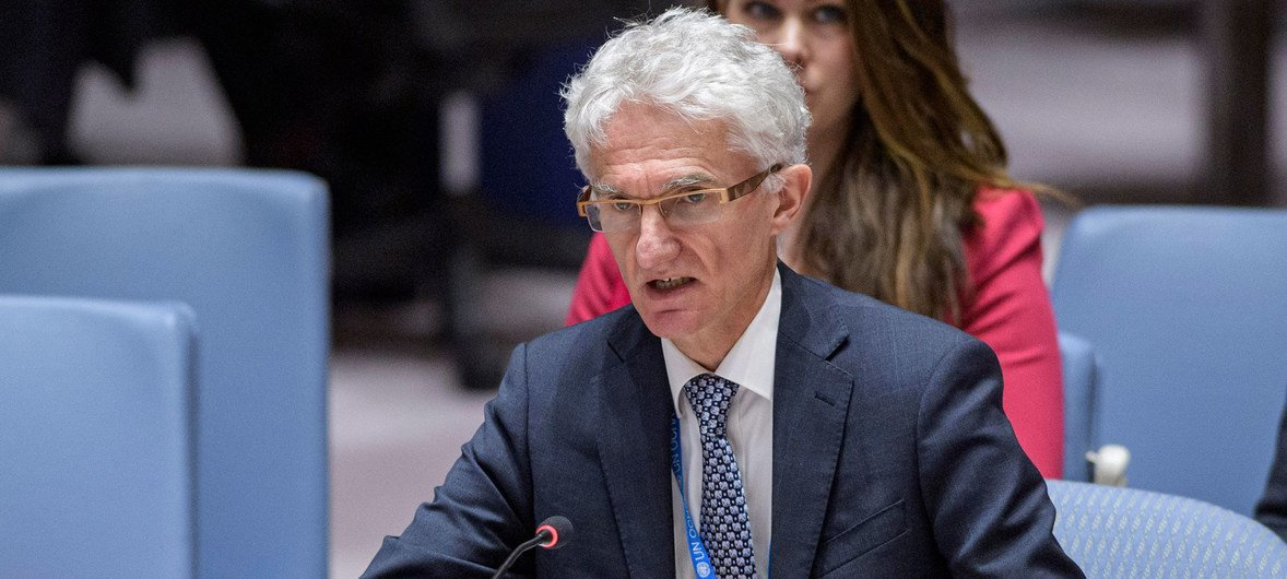 O convidado da entrevista da OMS a jornalistas, nesta sexta-feira, foi o subsecretário-geral das Nações Unidas para Assuntos Humanitários, Mark Lowcock.
