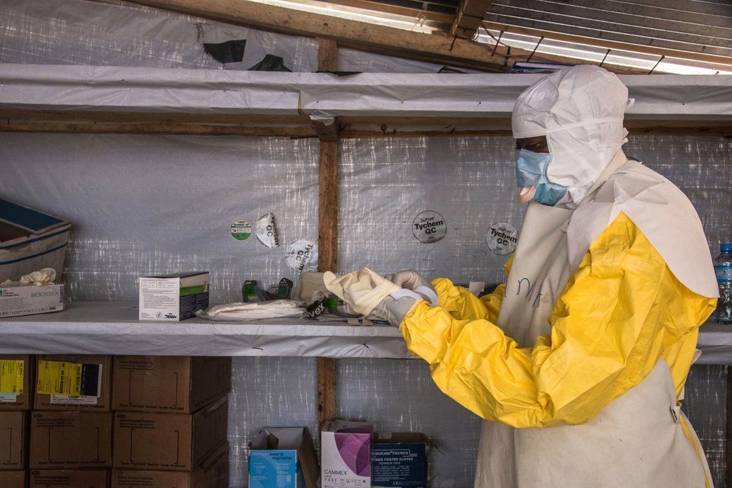 Mlipuko wa ebola umeripotiwa nchini Guinea. (Maktaba)