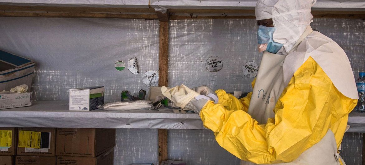 An  Ebola outbreak in Guinea was declared over just months before the country detected its first case of Marburg disease (file photo).