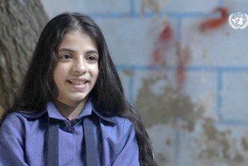غادرت نعمت وطنها سوريا بسبب الحرب عندما كان عمرها أربع سنوات
