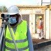 Trabajadores de la construcción en Kabul, Afganistán