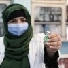Teachers at the Al-Fateh girls' high school in Kabul Afghanistan receives the shot of COVAX facilitated COVID-19 vaccine that were enrolled in Afghanistan..