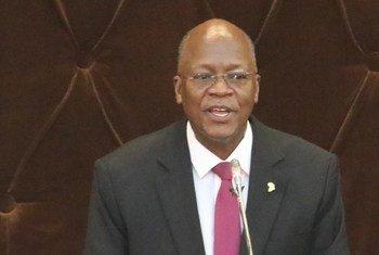 Mwendazake John Pombe Magufuli, Rais wa Tanzania