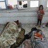 Многие палестинцы, чьи дома был разрушены в результате обстрелов, нашли убежище в школах БАПОР в секторе Газа.