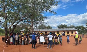 Des personnes ayant fui la province de Cabo Delgado au Mozambique ont été forcées de retourner après être entrées en Tanzanie.