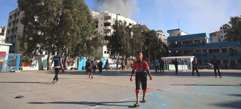 AL menos 60 niños han muerto y cientos más han resultado heridos y desplazados por los bombardeos de Israel sobre Gaza.