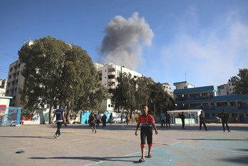 Dozens of Palestinian children have been killed, with many more injured and displaced since the escalation of hostilities began in the Gaza Strip.