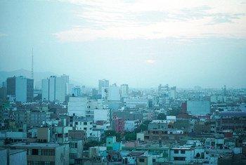 Vista panorámica de Lima, la capital de Perú.