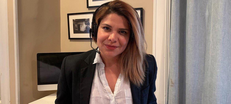 María Ruiz De Toro, psicoterapeuta clínica en la ciudad de Nueva York.