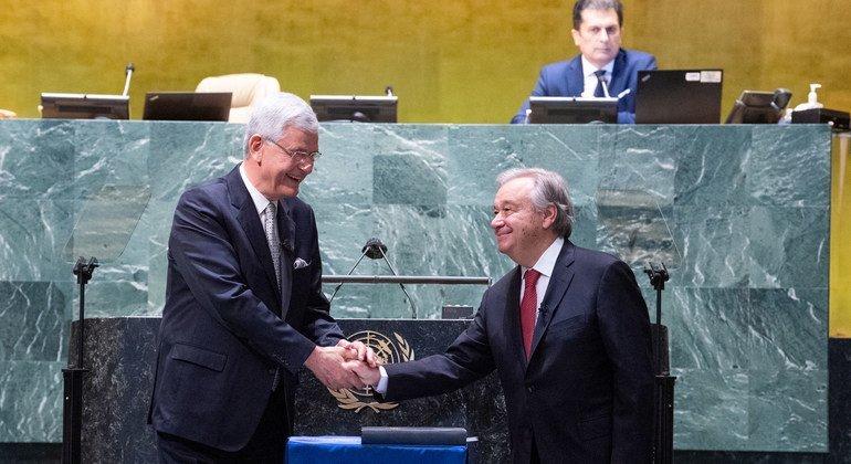 यूएन महासचिव के तौर पर एंतोनियो गुटेरेश का दूसरा कार्यकाल जनवरी 2022 में शुरू होगा.