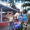 Familias venezolanas refugiadas llegan a un albergue de la ONU en Tarumã-Açu, en Manaus, al norte de Brasil.