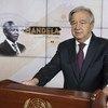 Генсек ООН Антониу Гутерриш выступил с ежегодной лекцией по случаю Международного дня Нельсона Манделы. Впервые это выступление прозвучало в виртуарльном формате.