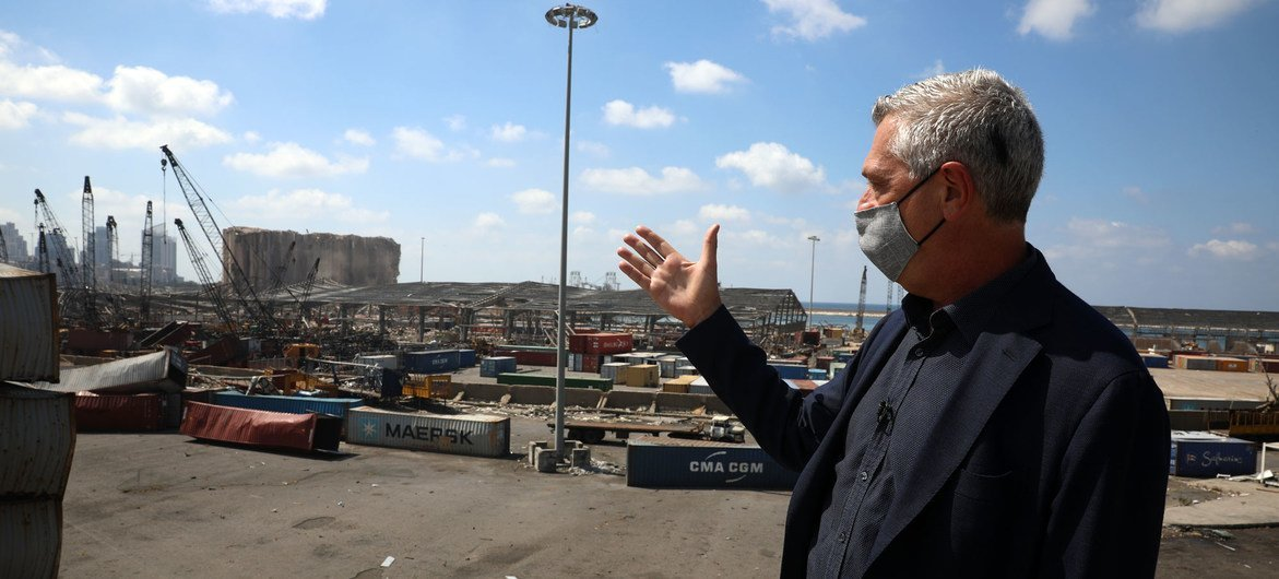 UN High Commissioner for Refugees Filippo Grandi visits Beirut, as UNHCR ramps up support to Lebanese and refugees alike.