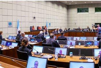 Заседание Специального трибунала по Ливану.