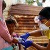 Una coordinadora de una ONG local ayuda a poblaciones en Venezuela en medio de la pandemia de COVID-19.