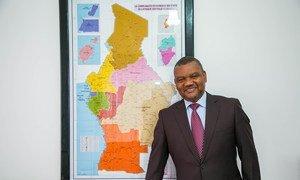 O coordenador sub-regional da FAO para África Central, e representante da FAO para o Gabão e São Tomé e Príncipe, Hélder Muteia, destaca a importância das florestas da Bacia do Congo