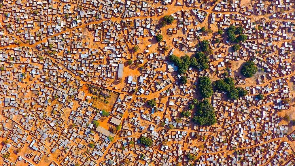 Mwonekano wa mji wa Bobo Dioulasso, Burkina Faso
