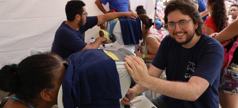 Ralf Toenjes lidera o negócio social VerBem promovendo o acesso à saúde oftalmológica no Brasil junto a investidores onde 71% dos municípios não possuem médicos oftalmologistas.