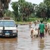 أمطار غزيرة في إثيوبيا تغمر مخيمات اللاجئين في مقاطعة مابان الكبرى في جنوب السودان.