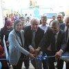 الأونروا تفتتح مركز صحي جديد في مخيم دير البلح بغزة