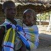 Le Programme alimentaire mondial (PAM) s'efforce d'atteindre les personnes déplacées qui sont confrontées à des niveaux d'insécurité alimentaire de crise à Cabo Delgado, au Mozambique.