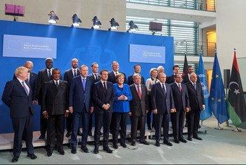 رؤساء الدول يجتمعون في مؤتمر برلين حول ليبيا في العاصمة الألمانية