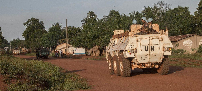 Миротворцы ООН в ЦАР