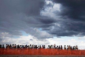أكثر الشخاص هشاشة في العالم، كالنازحين في جنوب السودان، هم على الأرجح الأكثر عرضة للمعاناة من تأثير تغيّر المناخ.