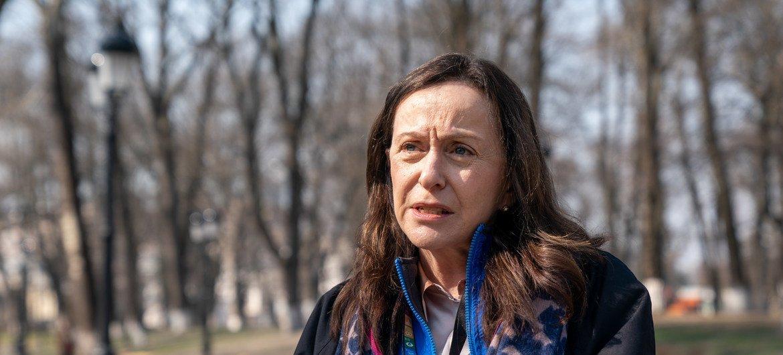 """Гуманитарный координатор ООН на Украине: """"Украинцы - стойкий народ""""."""