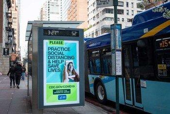A los neoyorquinos se les pide que mantengan el distanciamiento social para prevenir el contagio del coronavirus.