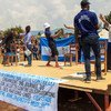 An outreach campaign on the prevention of sexual exploitation and abuse takes place in South Kivu, Democratic Republic of the Congo.