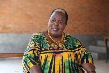 Balozi Getrude Mongela ambaye alikuwa Katibu Mkuu wa mkutano wa kimataifa wa 4 wa wanawake uliofanyika Beijing, China miaka 25 iliyopita.