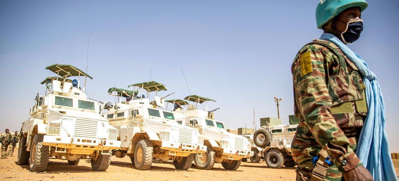 A missão de paz da ONU em Mali, MINUSMA, apoiou os esforços de paz e reconciliação no país