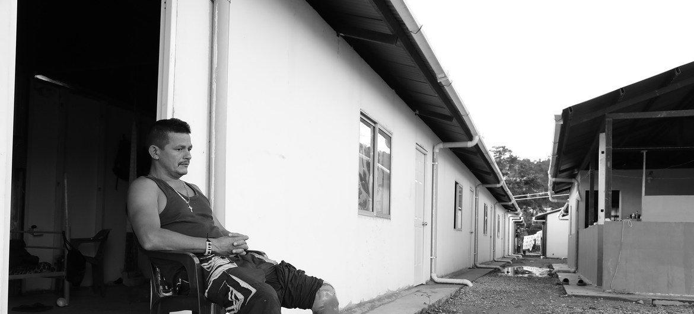 Antiguo combatiente de las FARC.