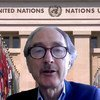 غير بيدرسون، المبعوث الخاص للأمم المتحدة إلى سوريا، يتحدث في مؤتمر افتراضي عبر الإنترنت من أوسلو