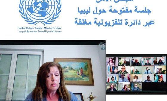 Representante especial interina para a Líbia, Stephanie Williams
