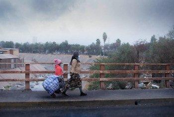 تستضيف تشيلي حوالي 10,000 لاجئ وطالب لجوء.