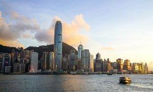 香港海湾。