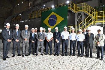 Rafael Mariano Grossi visitou o Brasil e declarou que o projeto terá um impacto importante no mundo todo