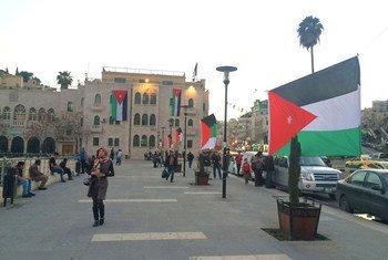أرشيف: مشهد من العاصمة الأردنية عمان.