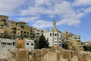 العاصمة الأردنية، عمان.