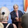 Пресс-конференция Генерального секретаря ООН по ситуации в Эфиопии, на которой он также ответил на вопросы  по Афганистану