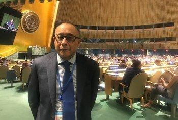 José Luís Rocha, representante permanente de Cabo Verde junto da ONU.